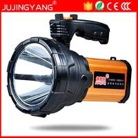 JUJINGYANG 6665 searchlight long range LED marine high power 65W rechargeable portable light camping spotlight