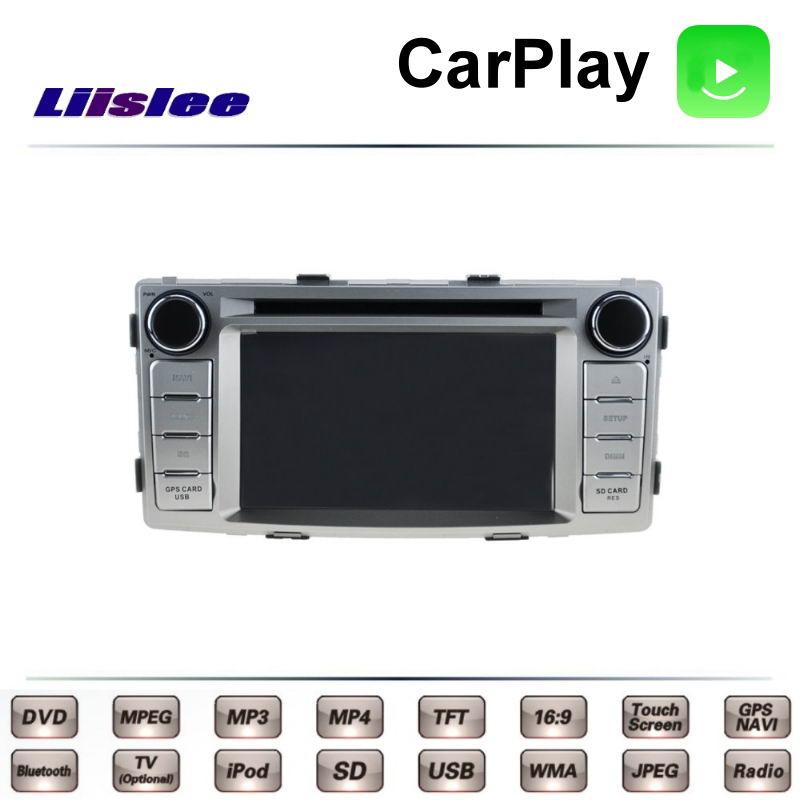 Pour TOYOTA Hilux 7 TRD Vigo camion maîtres AN10 AN20 AN30 2004 ~ 2015 voiture multimédia DVD GPS Radio Carplay Navigation Liislee Navi