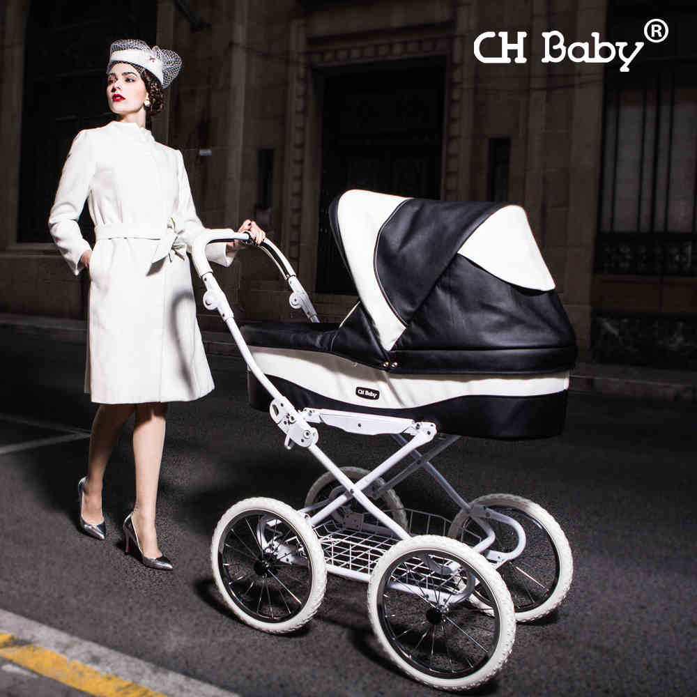 New Arrival Chbaby Baby Stroller Luxury Leather Buggiest
