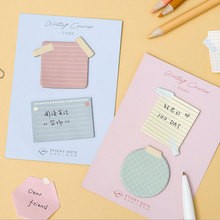 Convenient life Memo Pad kawaii Self-Adhesive N Times Sticky Notes stationery School Supplies Message Planner label Stickers free shipping 400sheet bag 76x19mm multicolour sticky pepsi stickers n times stickers self stick notes office supplies