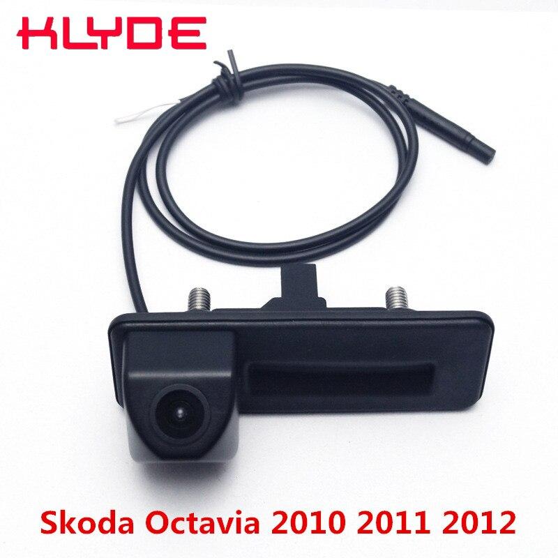 Auto Trunk Handle Car Rear View Reverse Backup Parking font b Camera b font 170 Degree