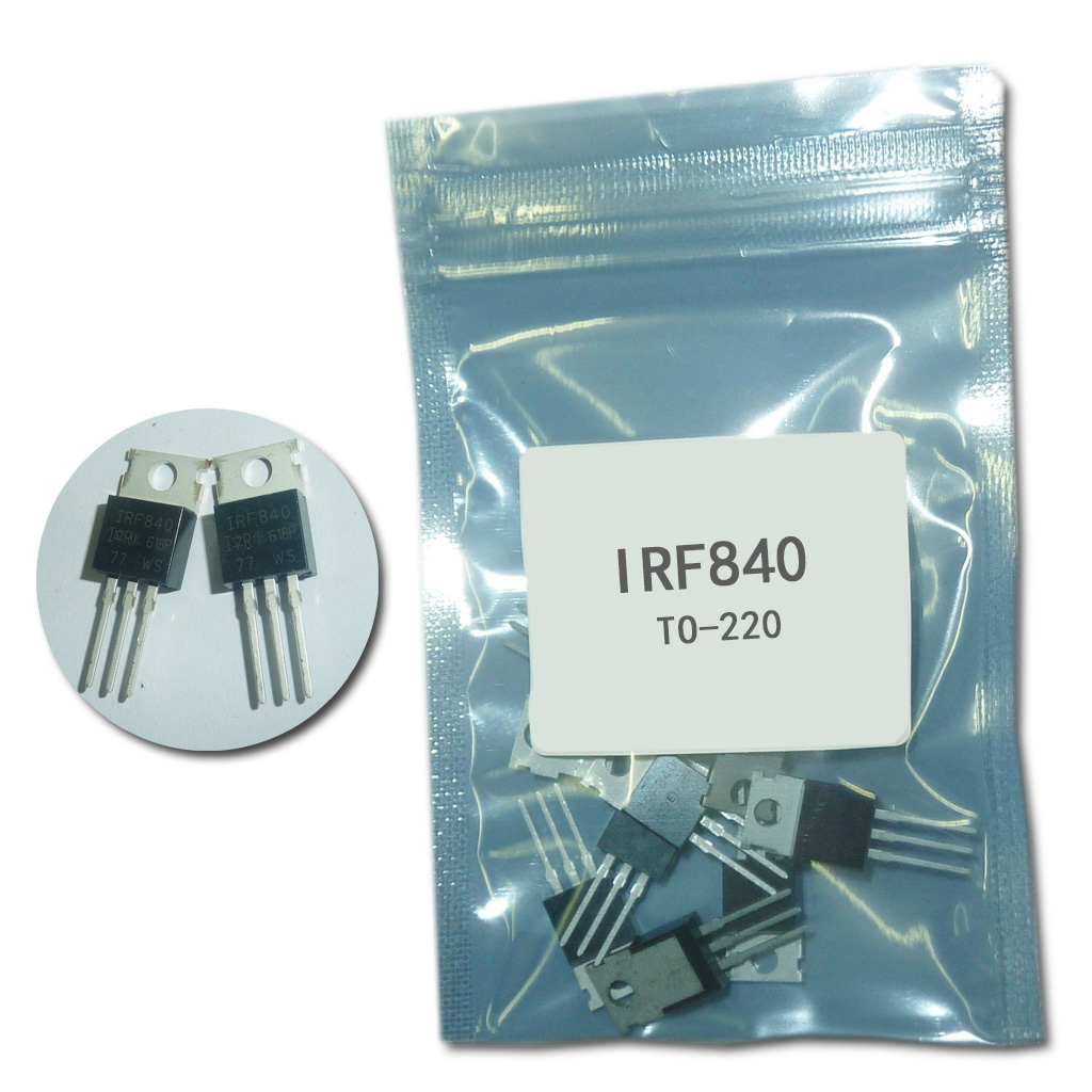 10pcs/lot IRF840 IRF840PBF MOSFET N-Chan 500V 8.0 Amp TO-220 New Original