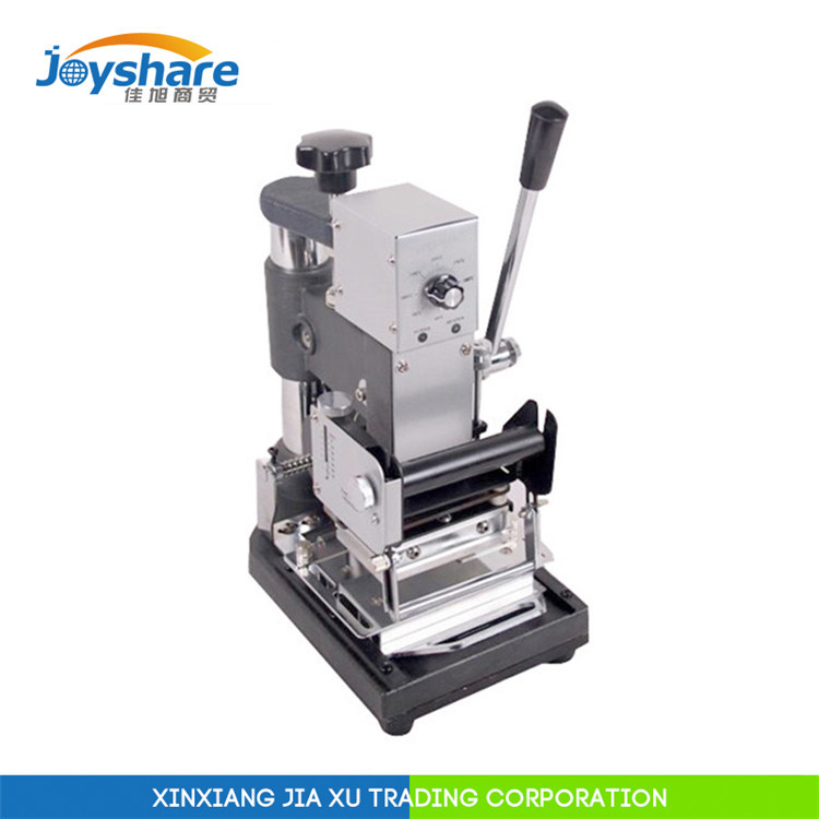 Manual Hot Foil Stamping Machine leather embossing machine 90A