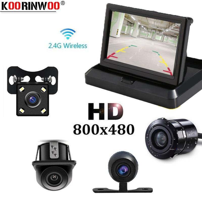 Koorinwoo Automobiles Monitor inalámbrico para autos Vista trasera - Accesorios de interior de coche - foto 1