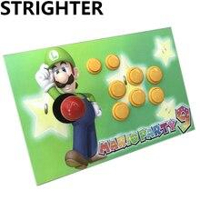Супер Марио аркада джойстик подарок контроллер компьютерная игра Аркадных Палками usb разъем уличных бойцов Консолей
