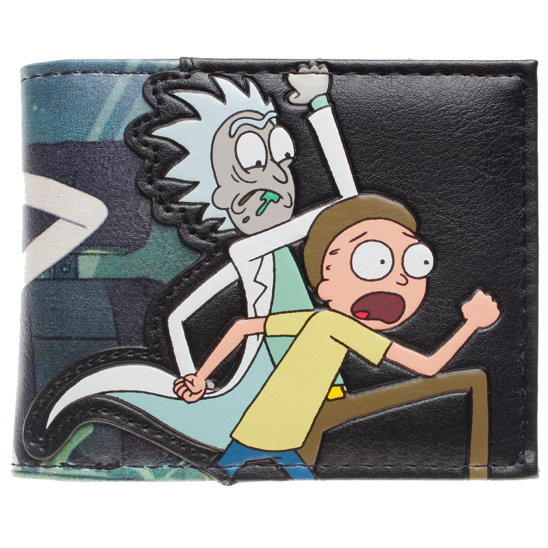 Rick and Morty Bifold Wallet DFT-10049 цена 2017