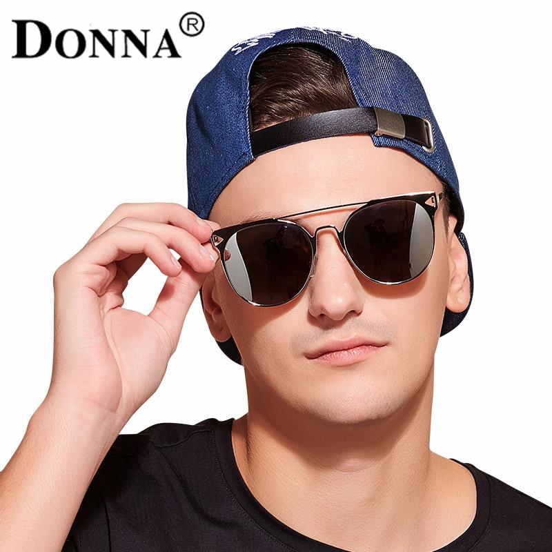 Donna Fashion Sunglasses Men Women Oversized Round Cat Eye