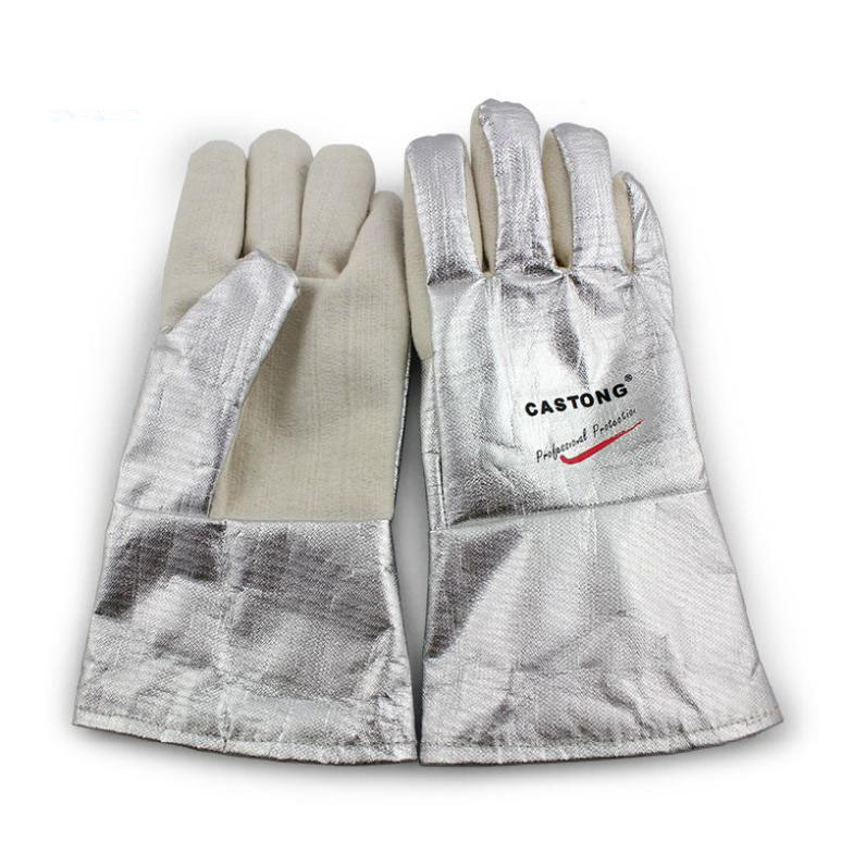 300-400 Degree Industrial Heating Ggloves High Temperature Fire Gloves GM01220 женские сапоги ecco 351123 14 11001 01220