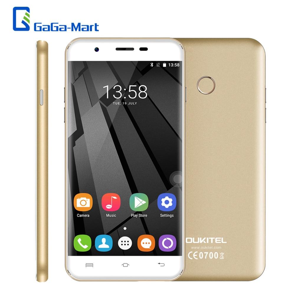 bilder für Original OUKITEL U7 Plus 4G LTE Smartphone Android 6.0 MTK6737 Quad Core 2 GB + 16 GB 13.0MP 5,5 zoll HD Fingerabdruck Mobilen telefon