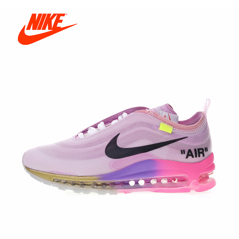 Original New Arrival Authentic Off-White x Nike Air Max 97 Queen Women's Running Shoes Sport Sneakers Good Quality AJ4585-600 original new arrival authentic off white x nike air max 97 menta men s running shoes sport sneakers good quality aj4585 101