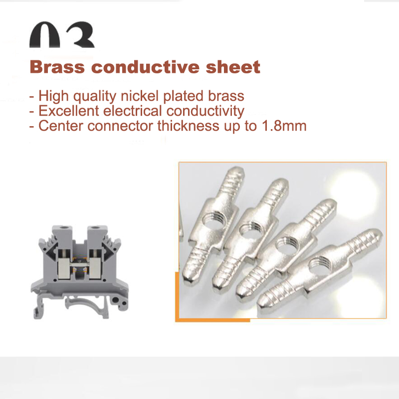 grey terminal blocks conductive sheet