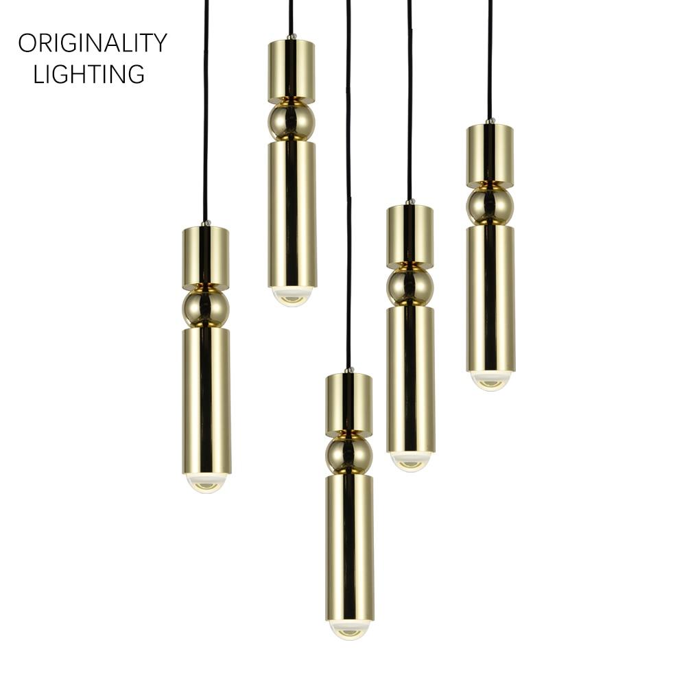 FULCRUM LIGHT 5 PIECE CHANDELIER CHROME փոքր լամպ պարզ - Ներքին լուսավորություն