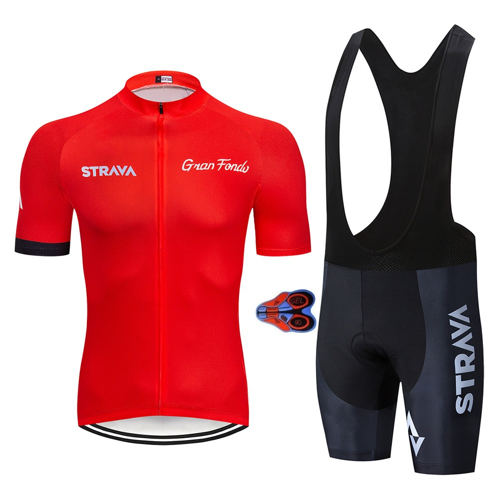 2019 Summer Strava 9D Cycling Jersey Short Sleeve Set Maillot Ropa Ciclismo Uniformes Quick-dry Bike Clothing MTB Cycle Clothes2019 Summer Strava 9D Cycling Jersey Short Sleeve Set Maillot Ropa Ciclismo Uniformes Quick-dry Bike Clothing MTB Cycle Clothes