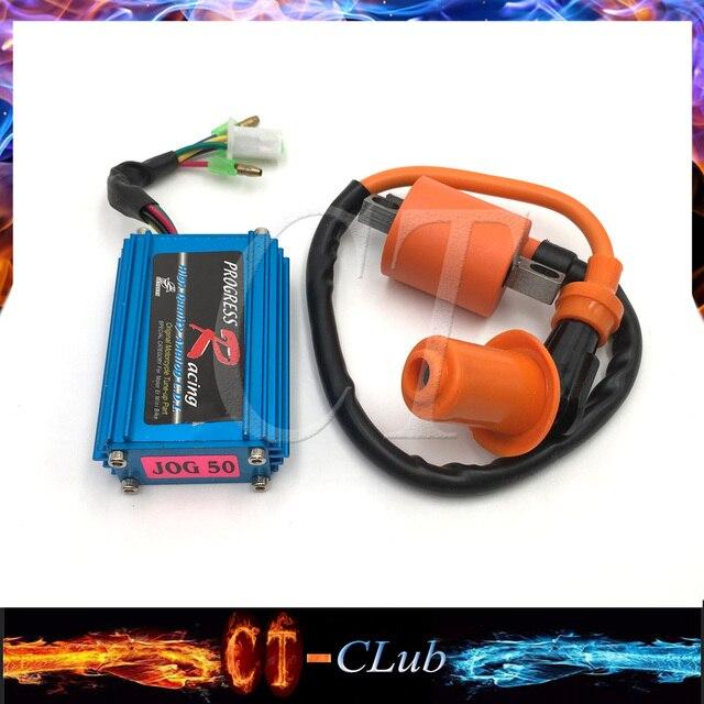 High Performance 5 Pin Racing CDI Box Ignition For Yamaha JOG ...