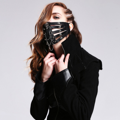 Steampunk mask masks for men and women cos three-dimensional personality ROCK skull cycling skinSteampunk mask masks for men and women cos three-dimensional personality ROCK skull cycling skin