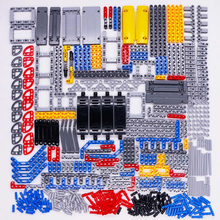 Technic Parts Bricks Pin Liftarm Studless Beam Axle Connector Panel gear Car Toys Mindstorm compatible Building Blocks Bulk sets