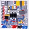 Технические детали, кирпичи, булавка, подъемник, бесступенчатая ось, соединительная панель, шестеренка, автомобильная игрушка, Mindstorm, совмес...
