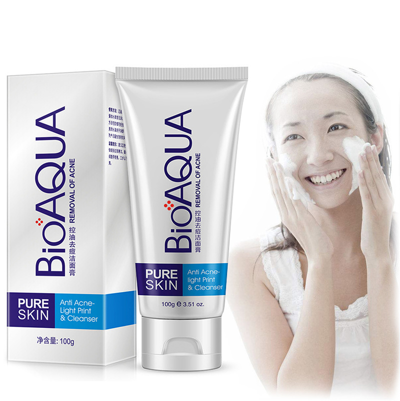 Non-irritating Facial Cleanser Exfoliator Exfoliating Moisturizing Whitening Brightening Peeling Gel Face Scrub Removal TSLM1