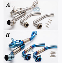 MT-03 MT03 R25 R30 R3 motorcycle exhaust  contact pipe link for 2014-2016 front
