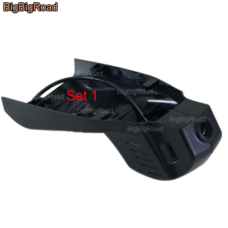 BigBigRoad Car DVR Wifi Video Recorder For BMW 3 series 340i 328i 335i 318i e36 320d 320i f30 e90 gt m3 f31 2006-2018 / X5M 2017