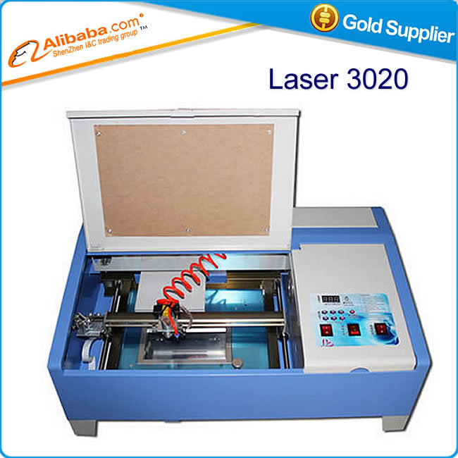 Laser 3020 40W CO2 Laser Engraving Machine CNC milling cutter With USB Connection & Infrared Positioning ly 3020 co2 laser engraving machine laser cutting machine with usb connection