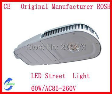 60W  LED Street Light with 5400lm Two Years Quality Warranty