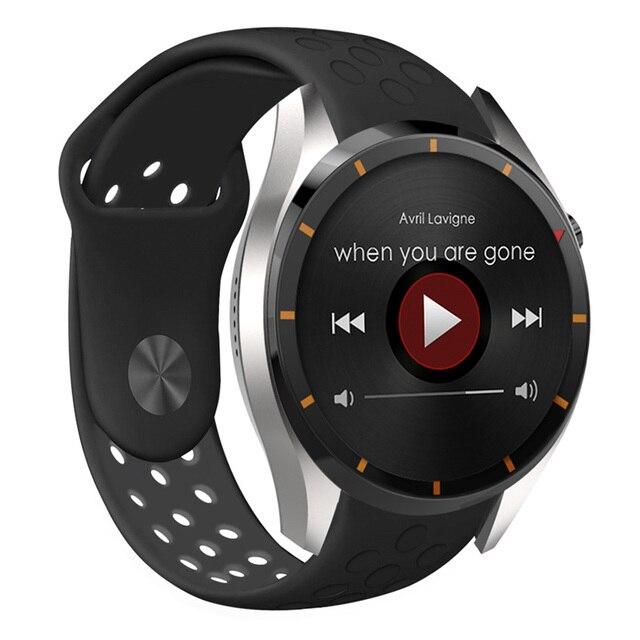 Горячая I3 Smart Watch MTK6580 Android OS 5.1 Силиконовая Кожа браслет Sim-карты 3 Г WIFI GPS Google Play Сердечного ритма Smartwatch