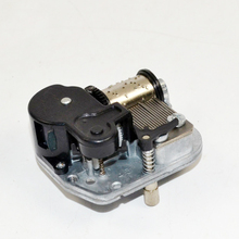 DIY music box mechanism with on-off rotary switch
