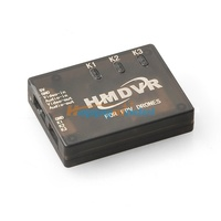 New HMDVR FPV Quadcopter Mini DVR Video Audio Recorder 30fps for EMAX 250 280 FPV