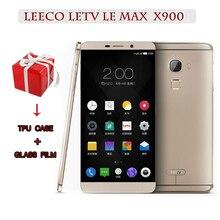 Orijinal LeEco Letv Le Max X900 Smartphone 6.33 3400 mAh Snapdragon 810 Octa çekirdek 4GB RAM 128GB 21 MP