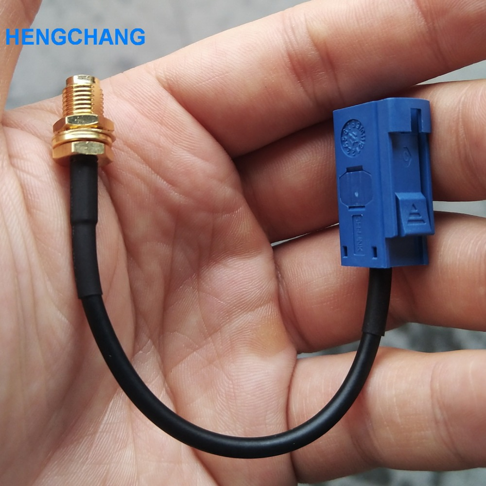 Fakra female to sma female GPS antenna extension cable adapter Fakra to SMA RF cable RG174 15CMFakra female to sma female GPS antenna extension cable adapter Fakra to SMA RF cable RG174 15CM