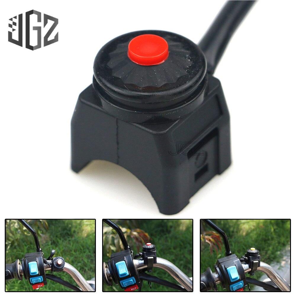 Универсальный регулятор зажигания на руль мотоцикла, 12 В, 22 мм, кнопка вкл. ВЫКЛ.|Переключатели для мотоцикла|   | АлиЭкспресс