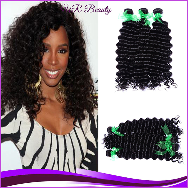Hair Extensiones De Pelo Natural Black Hair Weaves 4 Bundles Lot