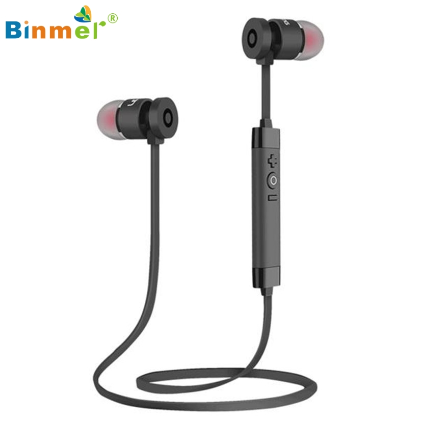 Bluetooth Wireless In-Ear Stereo Headphones Waterproof Sports Headphones Nov24 Drop Shipping Binmer Factory price High Quality image