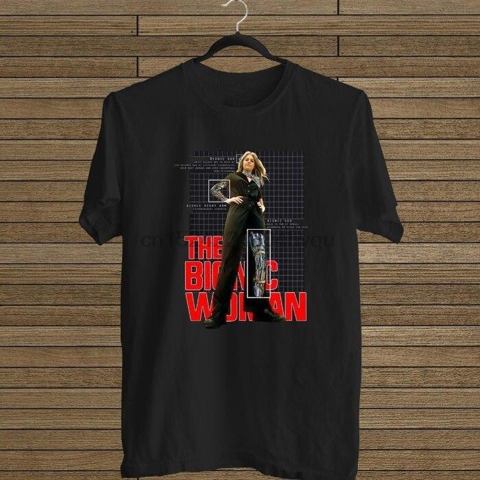 HOT RARE Bionic Woman Lindsay Wagner 70S TV Show  T-Shirt S-5XL