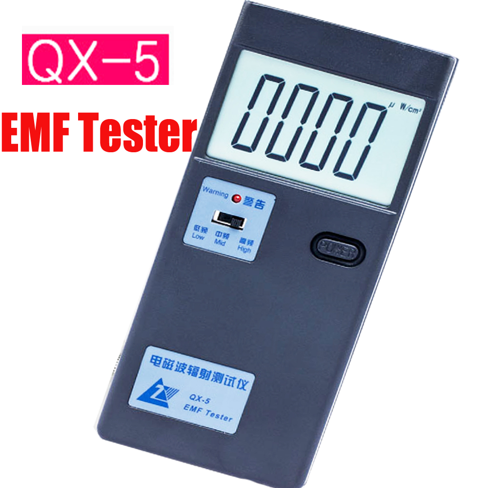 EMF tester, electromagnetic radiation detector  QX-5 Household radiation protection tools EMF meter