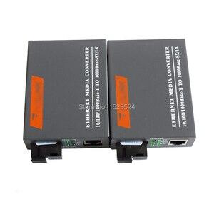 Image 2 - HTB GS 03 A & B 3 пары гигабитных волоконных оптических медиа преобразователей 1000 Мбит/с, одномодовый одноволоконный порт SC, внешний источник питания