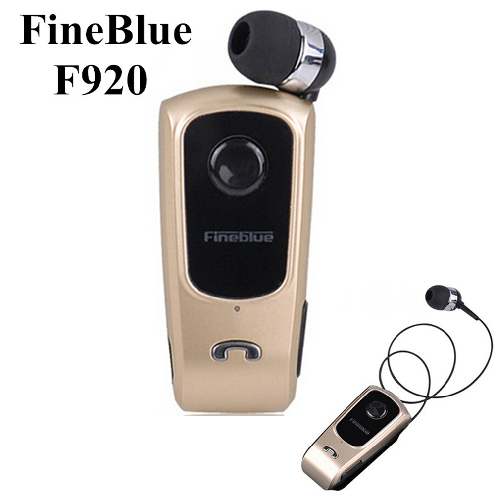 FINEBLUE Hands Free Handsfree Cordless Wireless Headphone Auriculares Mini Bluetooth Headset Earphone For Your In Ear Bud Phone