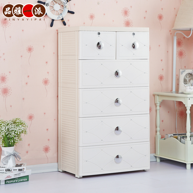 Superbe Elegant A Plastic Drawer Type Storage Cabinet Style Infant Baby Clothes  Cabinet Wardrobe Lockers