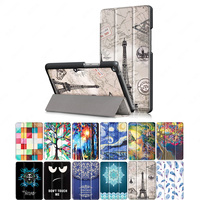 for Huawei [T3 8.0] Case, Ultra Slim Hard Case + PU Leather Smart Cover Stand for 8.0 Tablet Mediapad T3 8.0