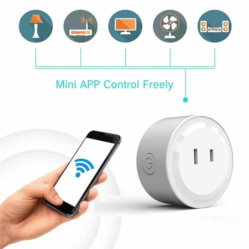 UK/US/EU/JP/IN sans fil Wifi commutateur intelligent prise télécommande Audio prise de distribution intelligente adaptateur Amazon Alexa Google Assistant