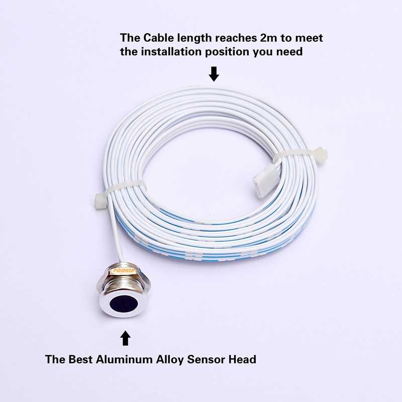 Запатентованный инфракрасный сенсорный выключатель, две модели, 500 Вт, инфракрасный датчик, датчик движения, индукция, Автоматическое включение/выключение ламп, 4-9 см, CE