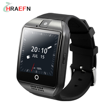 Q18 PLUS Smart watch phone Android 4.42 MTK6572A RAM512 ROM 4G support 3G SIM Gravity induction Gps AGPS WIFI Life waterproof