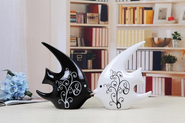 Dekoration wohnzimmer tv schrank dekoration keramik moderne kunst ...