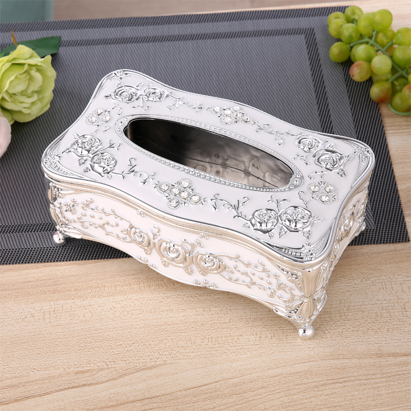 European acrylic tissue box toilet paper holder Storage rack toilet paper Napkin Shelves Bathroom accessories bomb style toilet tissue box orange