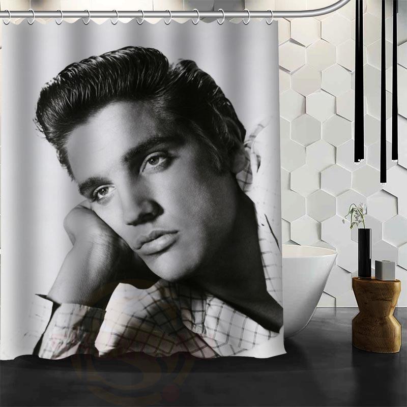 Benutzerdefinierte Elvis Presley Duschvorhang neue große - Haushaltswaren - Foto 3