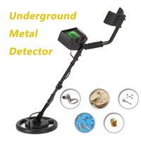 100 240V High Sensitivity Underground Metal Detector Gold Digger Treasure Hunter tester Scanner Scanning Tool + Earphone Buzzer