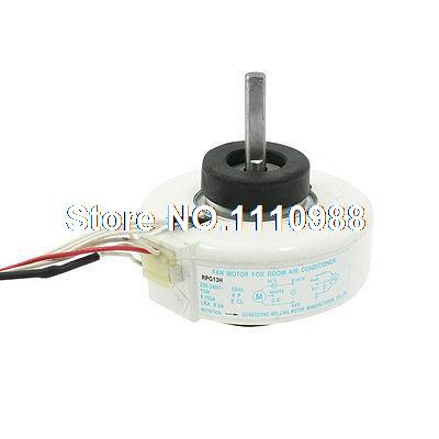 AC 220/240V 13W 3 Cable 8mm Shaft Dia Fan Motor for Air Conditioner