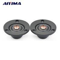 Aiyima 2PC 2inch Tweeter 4ohm 30W HIFI Silk Dome Treble Speaker Fever Audio Loudspeaker For Car