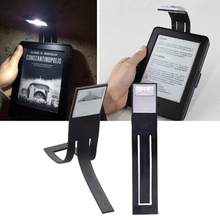 E-book Led Light For Kindle Paper As A Bookmark Reading Lamp Thin Warm White Lighting Flexible E-read Book Light Battery Z3(China)